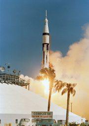 The launch of Apollo 7