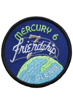 """Mercury 7 """"Friendship 7"""" Embroidered Mission Patch"""