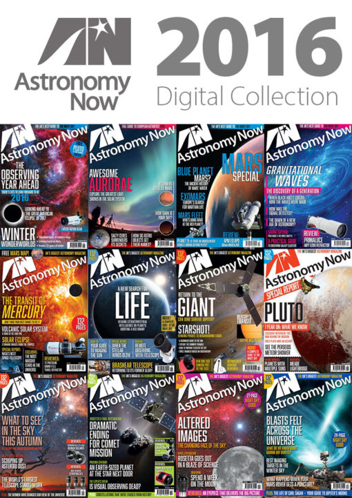 Astronomy Now Digital Collection 2016