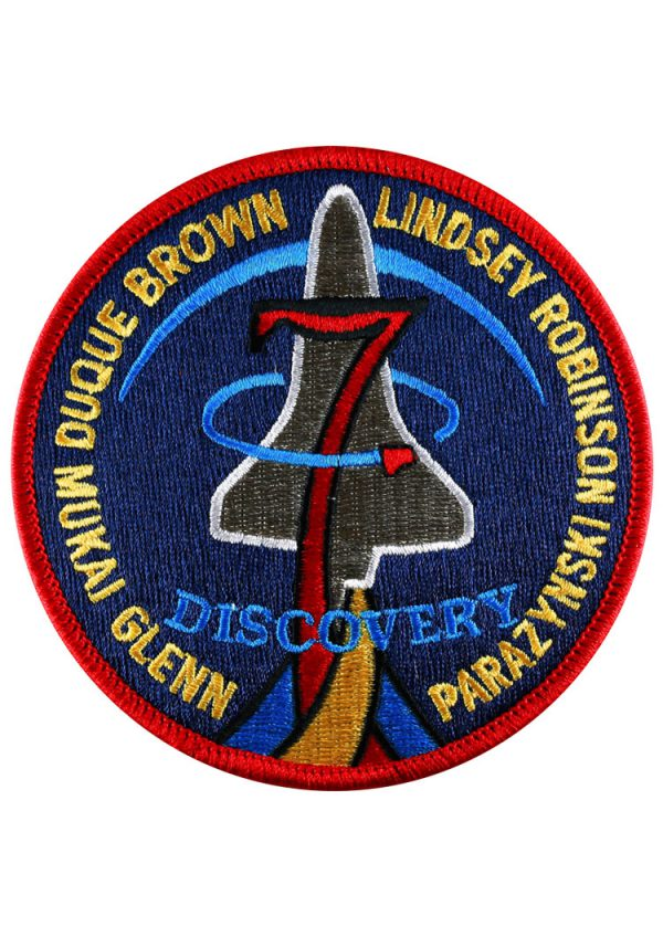 STS-95 Embroidered Mission Patch