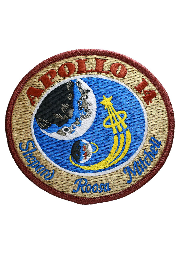 Apollo 14 Embroidered Mission Patch