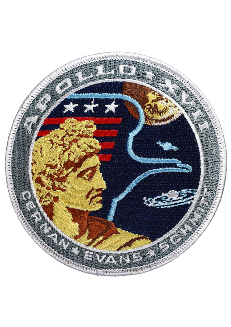 Apollo 17 Embroidered Mission Patch
