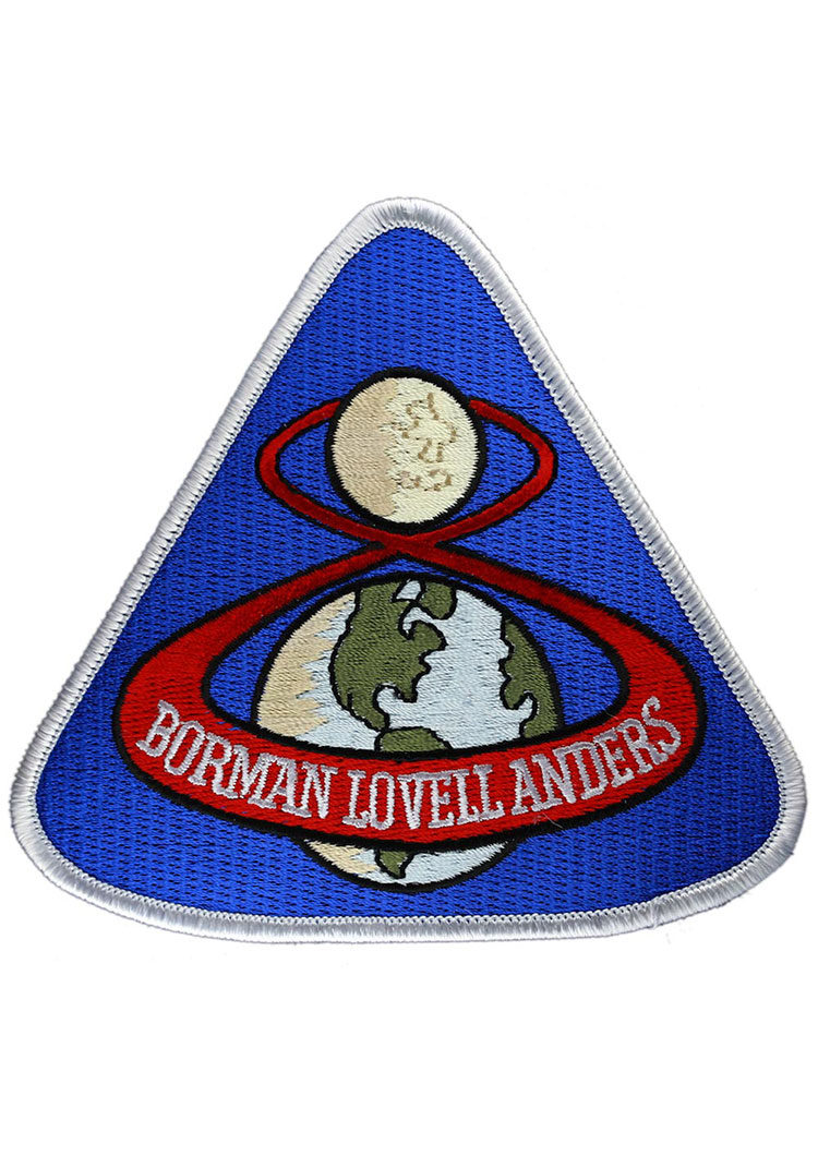 Apollo 8 Embroidered Mission Patch
