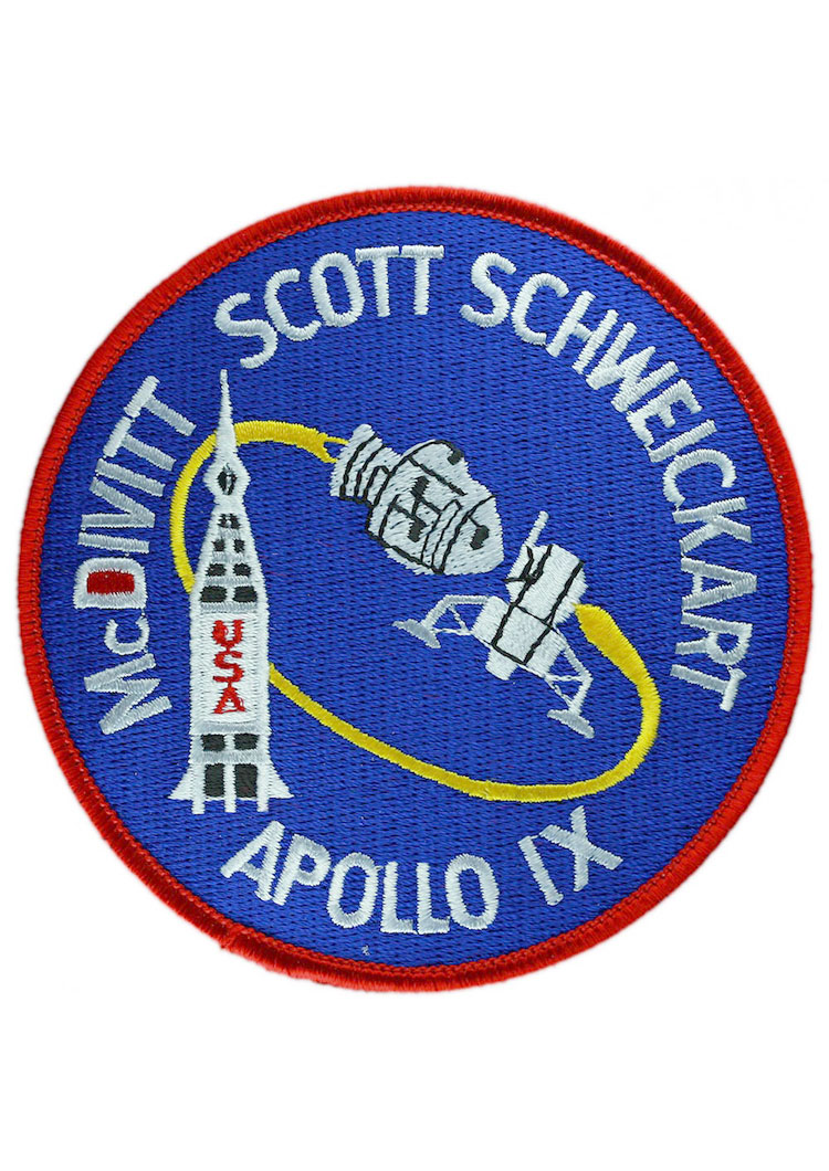 Apollo 9 Embroidered Mission Patch