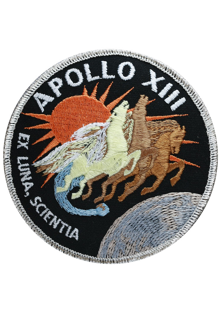Apollo 13 Embroidered Mission Patch