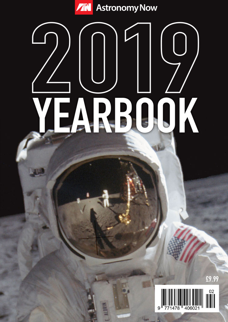 Astronomy Now 2019 Yearbook & Calendar