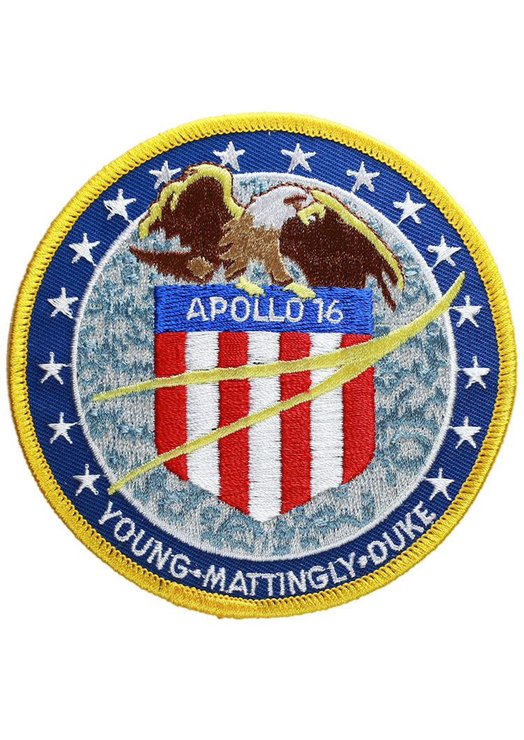 Apollo 16 Embroidered Mission Patch